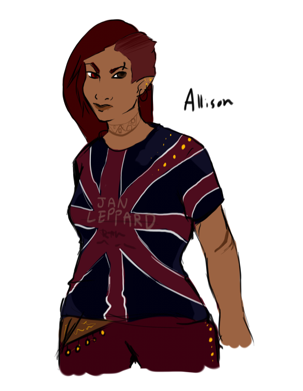 Steampunk/Apocalyptic Future Allison, request by Monday